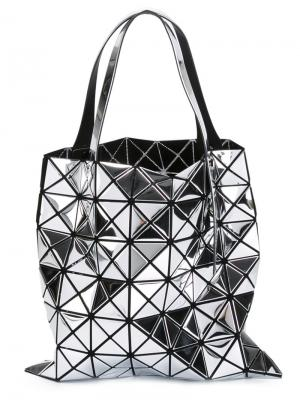 Мини сумка-тоут Platinum-1 Bao Issey Miyake. Цвет: металлический