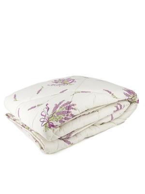 Одеяло Прованс DAILY by TOGAS. Цвет: белый, сиреневый