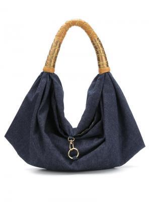 Джинсовая сумка Xaa. Цвет: синий