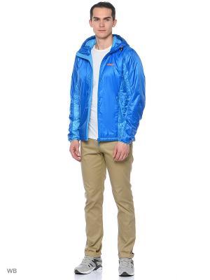 Куртка Bergans. Цвет: голубой, синий