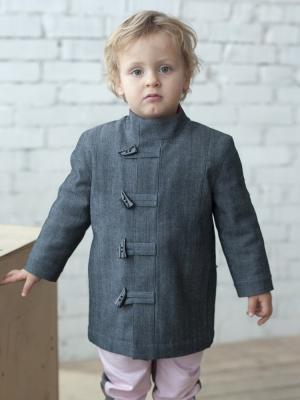 Пальто Завр Sardina Baby. Цвет: серый