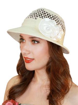 Шляпа Сиринга. Цвет: светло-бежевый