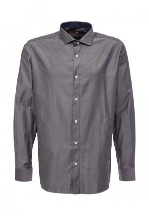 Рубашка Karflorens. Цвет: серебряный