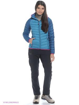 Куртка ZENON XT JACKET WOMEN Jack Wolfskin. Цвет: голубой