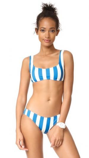 Лиф бикини Elle Solid & Striped. Цвет: морская полоска