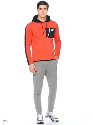 Худи M NSW AV15 HOODIE PO FLC Nike. Цвет: оранжевый
