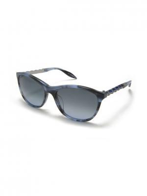 Солнцезащитные очки MILA ZB. Цвет: голубой