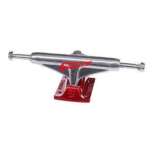 Подвеска для скейтборда 1шт.  Alum Reg Tens Daewon Flick Raw/Red 5.25 (20.3 см) Tensor. Цвет: красный,серый