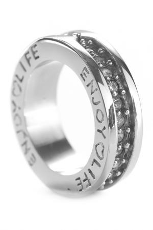 Кольцо OXXO design. Цвет: серебряный, прозрачный