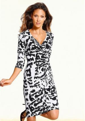 Платье Maria Bellesi. Цвет: экрю/черный