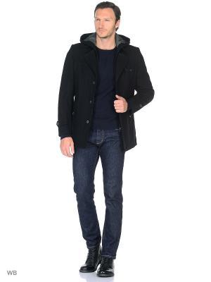 Пальто Donatto. Цвет: черный