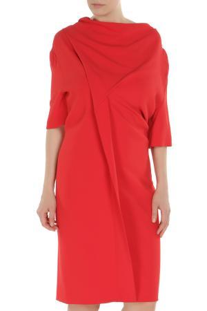 Платье Clips. Цвет: красный, черный
