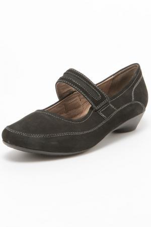 Туфли AMATO. Цвет: черный