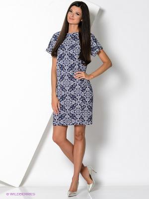 Платье карман Alina Assi. Цвет: темно-синий
