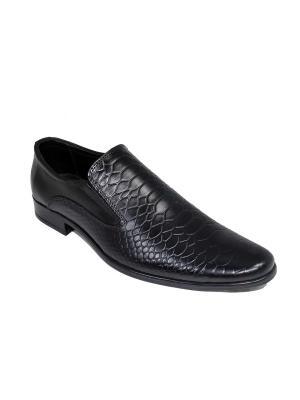 Туфли GassA. Цвет: черный
