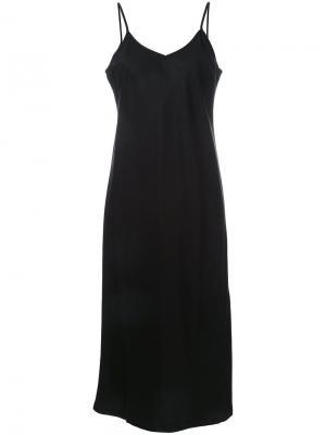 Платье Slip Nobody Denim. Цвет: чёрный