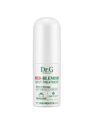Сыворотка для точечного нанесения от покраснений Red-Blemish , 4 мл. Dr.G. Цвет: белый