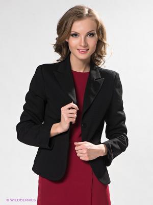 Пиджак DRS Deerose. Цвет: черный