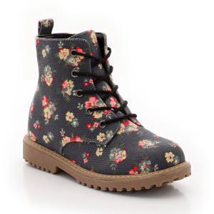 Ботинки со шнуровкой R édition. Цвет: цветочный рисунок