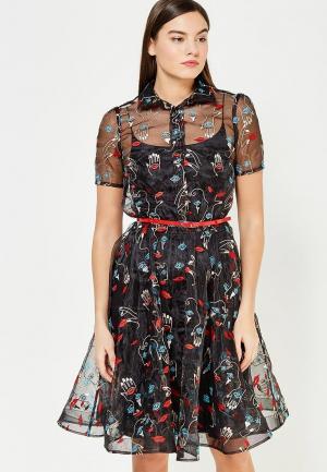 Платье To be Bride. Цвет: черный
