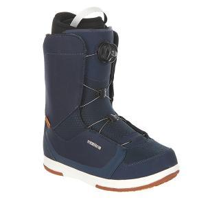 Ботинки для сноуборда  Alpha Boa Navy Deeluxe. Цвет: синий