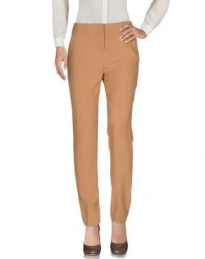 Повседневные брюки FAUSTO PUGLISI. Цвет: верблюжий