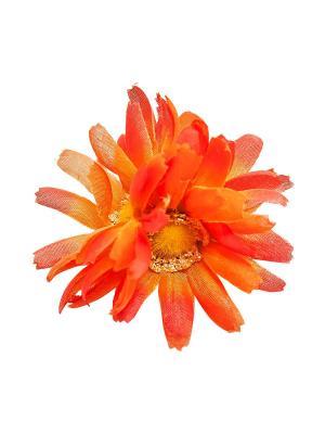 Зажим-брошь Kameo-bis. Цвет: оранжевый, желтый, серебристый