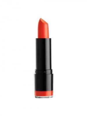 Кремовая губная помада ROUND LIPSTICK - HAUTE MELON 583 NYX PROFESSIONAL MAKEUP. Цвет: оранжевый