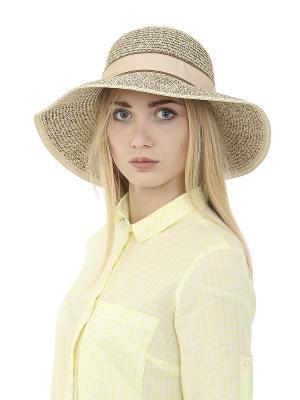 Шляпа Gusachi. Цвет: бежевый, коричневый