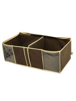 Ящик для вещей Камея. Цвет: коричневый