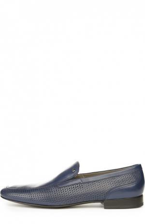 Лоферы Aldo Brue. Цвет: темно-синий