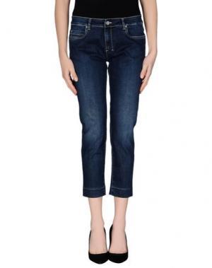 Джинсовые брюки ROSE & LINI. Цвет: синий