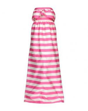 Длинное платье DSQUARED2. Цвет: фуксия
