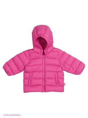 Куртка United Colors of Benetton. Цвет: розовый