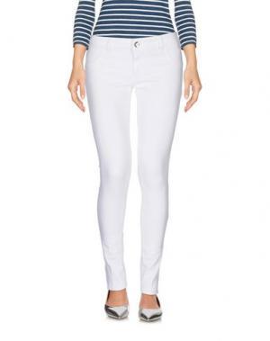 Джинсовые брюки ENTRE AMIS. Цвет: белый