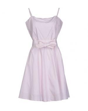 Платье до колена ELVINE. Цвет: розовый