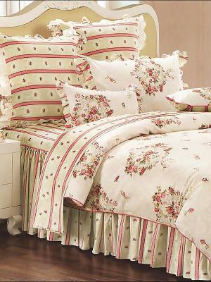 Комплект постельного белья, Атриум , 1.5 спальный KAZANOV.A.. Цвет: молочный
