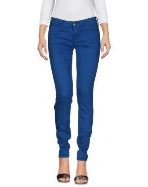 Джинсовые брюки HTC. Цвет: пастельно-синий