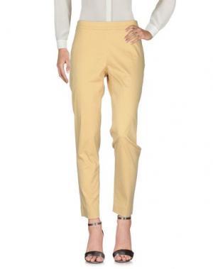Повседневные брюки -A-. Цвет: желтый