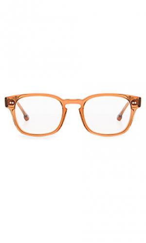 Очки monroe Steven Alan. Цвет: оранжевый