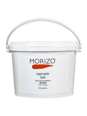 Паста для шугаринга плотная 3000мл MORIZO. Цвет: коричневый, прозрачный