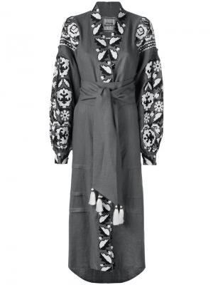 Платье Royal Garden Yuliya Magdych. Цвет: серый