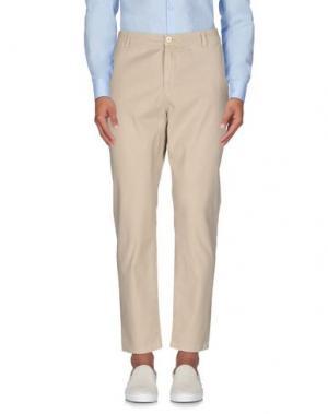 Повседневные брюки DERRIÉRE. Цвет: бежевый