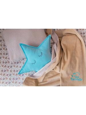 Постельное Белье Pecorella Chocolate Umbrellas. Цвет: светло-коричневый, светло-серый