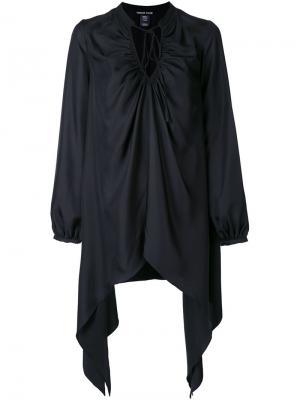 Рубашка свободного кроя Thomas Wylde. Цвет: чёрный