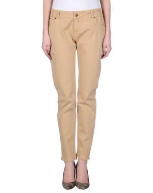 Джинсовые брюки SITA MURT/. Цвет: песочный