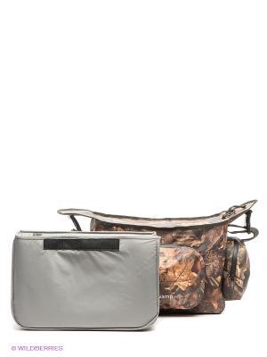 Охотничья сумка Свамп Nova tour. Цвет: хаки, коричневый, светло-коричневый