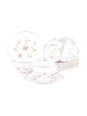 Набор чайный 12 предметов 200 мл. PATRICIA. Цвет: белый