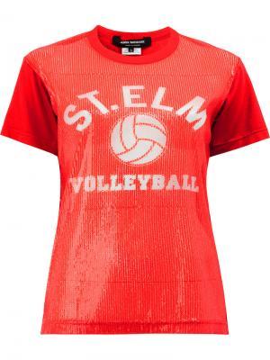 Футболка S.T.E.L.M Junya Watanabe Comme Des Garçons. Цвет: красный