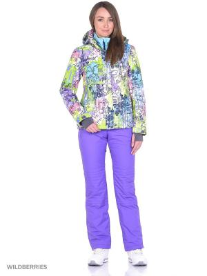 Куртка High Experience. Цвет: салатовый, сиреневый, молочный